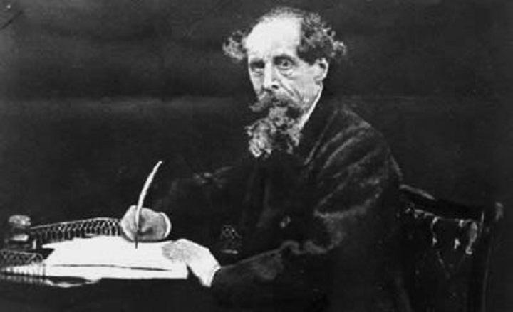 Jurnalis Charles Dickens. (FOTO: NUSANTARANEWS.CO/Pinterest)