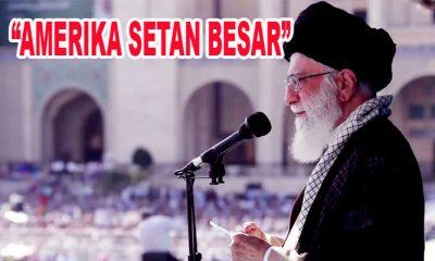 """Kata Ayatullah Khameini- """"Setan Besar"""" Habiskan US$ 7 Trilyun di Timur Tengah Tanpa Hasil"""