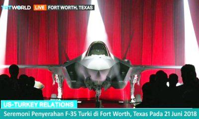 Lockheed Martin Secara Resmi Telah Menyerahkan F-35 Pertama Kepada Turki