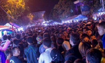 Malam Selawe, Tradisi Masyarakat Gresik Ngalap Berkah Lailatul Qadar. (FOTO: LINTAS GRESIK)