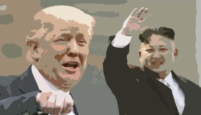 Menunggu Pertemuan Puncak AS dan Korea Utara di Singapura copy