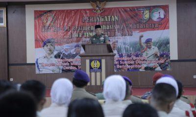 Komandan Korem (Danrem) 084/Bhaskara Jaya, Kolonel Kav M. Zulkifli. (FOTO: NUSANTARANEWS.CO/Penrem)