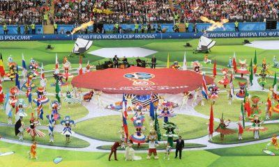 Meriahnya Pembukaan Piala Dunia