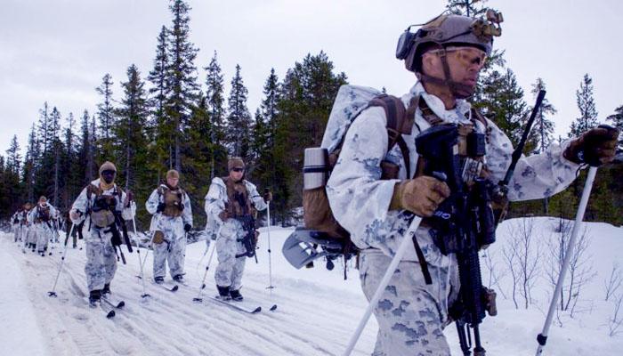 Norwegia Ingin 700 Marinir AS Dikerahkan Lebih Dekat Ke Perbatasan Rusia