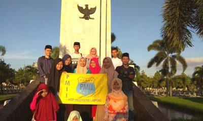 pmii lampung, pmii unila, universitas lampung, pahlawan indonesia, pahlawan nasional, doakan pahlawan,