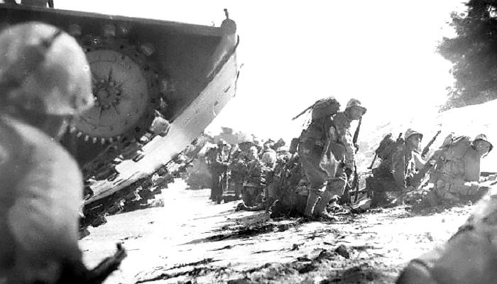 perang dunia II, pertempuran saipan, perang pasifik, saipan, kepulauan mariana, pasukan as, pasukan jepang, nusantaranews