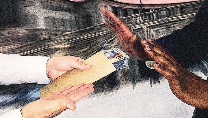 Pemerintah yang Sehat (Foto: Corruption Watch by Karen Moolman at BusinessLive)