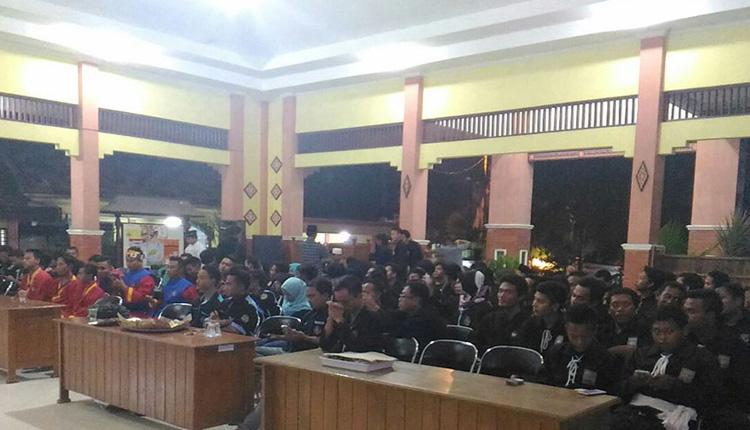 Pertemuan Antar Perguruan Silat Jelang Pilgub Jatim. (Foto Dok. Nusantaranews)