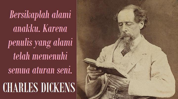 Pesan Terakhir Charles Dickens. (FOTO: NUSANTARANEWS.CO)