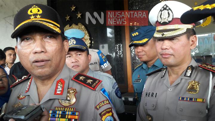 Kapolda Jatim Irjen Pol Machfud Arifin. (FOTO: NUSANTARANEWS.CO/Setya)