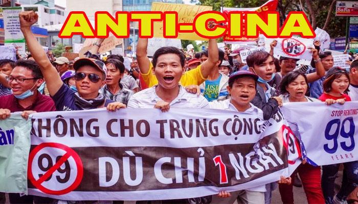 Protes Anti-Cina Terburuk di Vietnam, Ratusan Orang Ditangkap