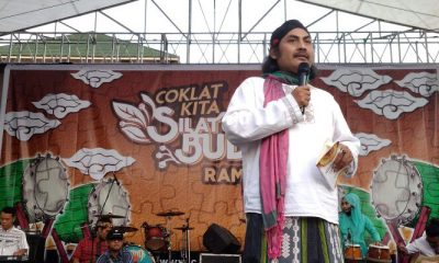 al-Zastrouw pada sebuah acara di Bumiayu. (FOTO: NUSANTARANEWS.CO/Pribadi)
