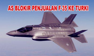 Senat AS Blokir Penjualan Jet Tempur F-35 Kepada Turki