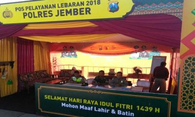 TNI-Polri Kabupaten Jember siap mengamankan lebaran 2018. (Foto: Istimewa)