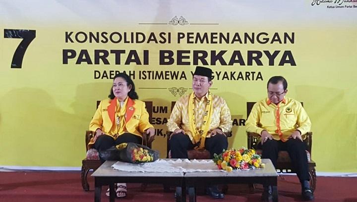 Titiek Milih Partai Berkarya Ketimbang Golkar, Ini Sebabnya. (FOTO: Istimewa)