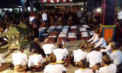 Tradisi malam selikuran di keraton surakarta. (FOTO: Tribunnews)
