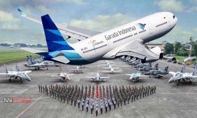 Kejanggalan Kerjasama Garuda Indonesia - TNI AU (Foto Ilustrasi)