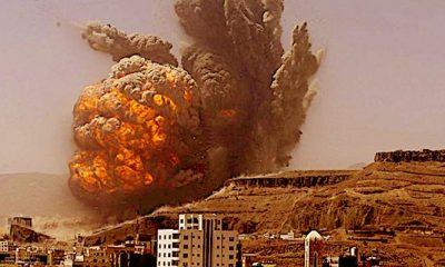 houthi belum menyerah, meski di bom setiap hari oleh pasukan koalisi