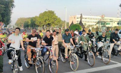 Peresmian Car Free Day di Surabaya (Foto Dok Nusantaranews)