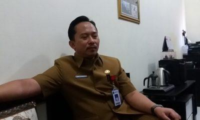 Arif Firmanto Kepala Bidang Sarana Prasarana dan Penyuluhan, Dispertahorbun Kabupaten Sumenep. (FOTO: NUSANTARANES.CO/Mahdi Al Habib)
