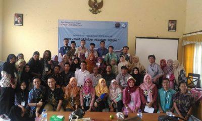 Balai Bahasa Jawa Tengah bersama Bumiayu Creative City Forum mengadakan kegiatan Lokakarya penulisan cerita rakyat di aula kecamatan Bumiayu. (FOTO: NUSANTARANEWS.CO/BCCF)