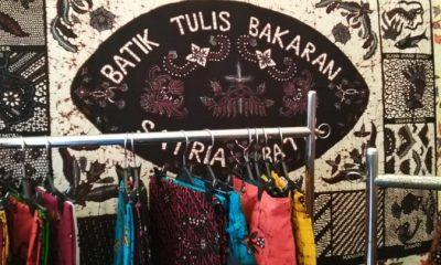 Batik Tulis Bakaran sebuah Produk UMKM di Bazar dalam rangka Hari Koperasi. (FOTO: NUSANTARANEWS.CO/Rosidi)