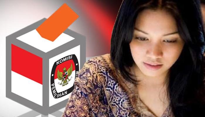 Caleg Perempuan (Ilustrasi/Nusantaranews.co)