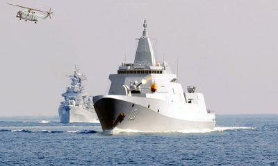 Destroyer Tipe 055 Cina