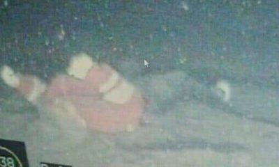 Diduga penampakan mayat korban kapal tenggelam KM Sinar Bangun di Danau Toba. (FOTO: Istimewa)