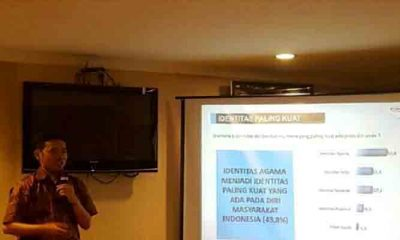 Direktur riset Median, Sudarto (Foto Robiatul Adawiyah)