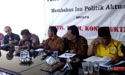 Diskusi Efek Putusan MK Soal Kandidat Senator (Foto NUSANTARANEWS.CO/Romadhon)