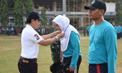 Dosen dan Tenaga Kependidikan ITS Dibekali Wasbang Bela Negara. (FOTO: NUSANTARANEWS.CO/Agung Prasetyo Budi)