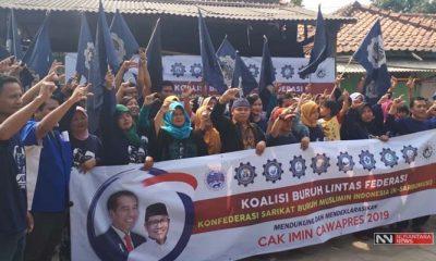 Federasi Buruh Sarbumusi Dukung Cak Imin Cawapres 2019 (Foto Dok. Nusantaranews)