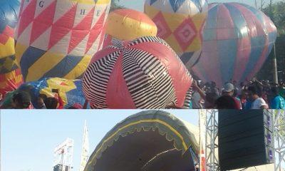 Festival Balon Udara di Ponorogo (Foto Nusantaranews)