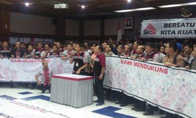 Karyawan Semen Indonesia (SKSI) Gelar Aksi (Foto Dok. Nusantaranews)