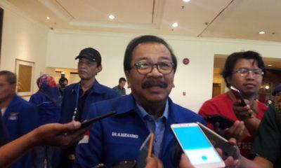 Ketua DPD Demokrat Jatim Soekarwo. (FOTO: NUSANTARANEWS.CO/Setya)