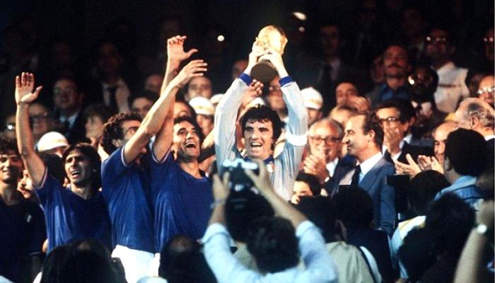 piala dunia fifa, piala dunia 1982, italia juara piala dunia 1982, paolo rossi, paolo rossi top skorer, bintang piala dunia 1982, legenda piala dunia 1982, tuan rumah piala dunia 1982, nusantaranews