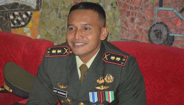 Komandan Kodim 0824 Jember Letkol Inf Arif Munawar. (FOTO: NUSANTARANEWS.CO/Sis24)