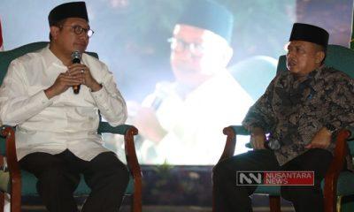 Lukman Hakim Saifudin Saat Launching PPKB GPAI (Foto Nasukha/Nusantaranews.co)