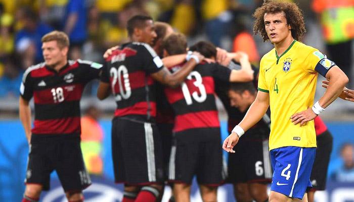 piala dunia 2014, semifinal piala dunia 2014, brasil vs jerman, piala dunia brasil
