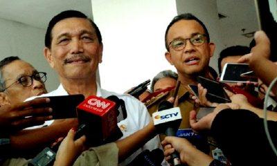 Meski Beda Haluan Politik, Luhut dan Anies Masih Akrab dan Mesra. (FOTO: Dok. Merdeka)