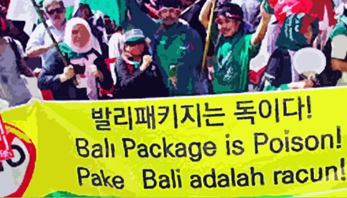 Mulusnya WTO Paket Bali