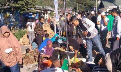 Para Korban Gempa Bumi di Lombok, NTB, Minggu 29 Juli 2018 (Foto Credit)