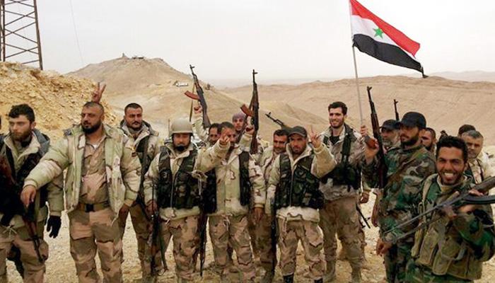 Pasukan pemerintah Suriah
