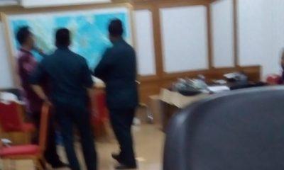Pelaku Tak Dikenal Menteror Staf Hanura di KPU (Foto Dok. Nusantaranews)
