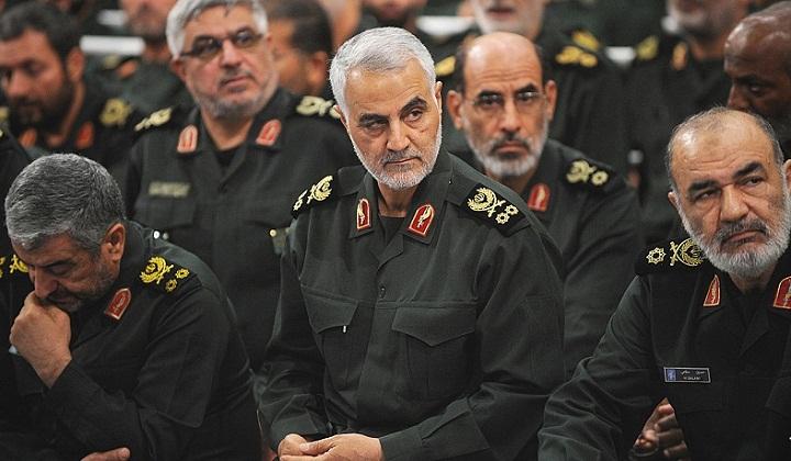 Pemimpin Pasukan Garda Revolusi Iran Mayor Jenderal Qassem Sulaimani. (NUSANTARANEWS.CO/ Russia Beyond)