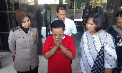 Polrestabes Surabaya Bekuk Mucikari Khusus Threesome di Hotel. (FOTO: NUSANTARANEWS.CO/Setya)