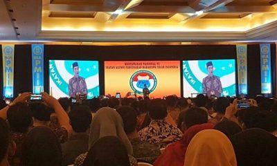 Presiden Jokowi sebut Cak Imin (Muhaimin Iskandar) dan Gus Rommy (Romahurmuziy) bersaing. (FOTO: NUSANTARANEWS.CO/Romadhon)