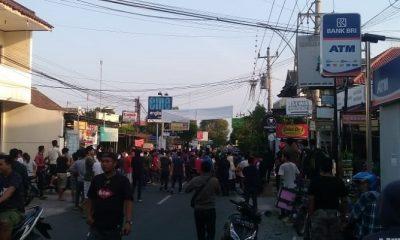 Densus 88 Tangkap Terduga Teroris di Yogyakarta (Foto Dok. Warga)