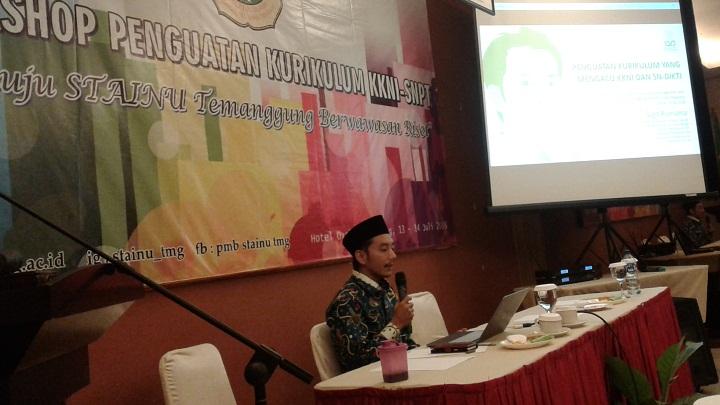 STAINU Kuatkan Kurikulum Berbasis Islam Nusantara. (FOTO: NUSANTARANEWS.CO/Dul)